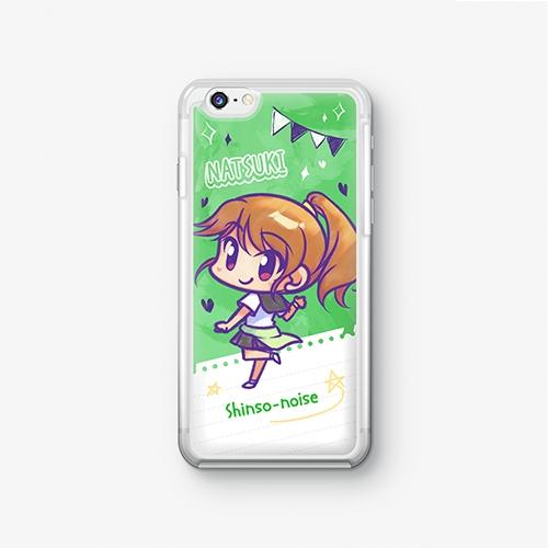 【シンソウノイズ】 風間夏希 SDバージョン iPhoneケース