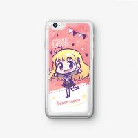 【シンソウノイズ】 桃園萌花 SDバージョン iPhoneケース