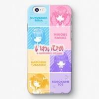 【祝姫】 いわいひめ SDバージョン iPhoneケース