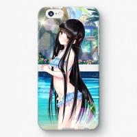 【祝姫】 黒神十重 水着バージョン iPhoneケース