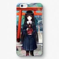 【祝姫】 黒神十重 iPhoneケース