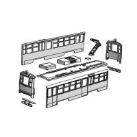 (Nゲージ)伊予鉄道 モハ50後期形タイプ 組立てキット