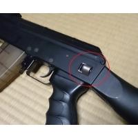 東京マルイAK47用リアQDスリングスイベル