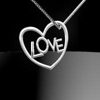Heart-LOVEペンダント