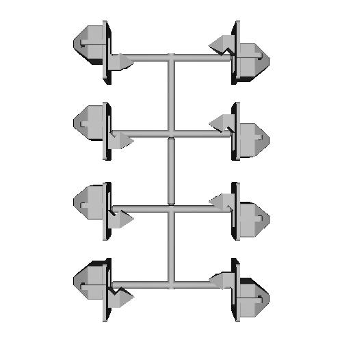 連結器カバー8個セット