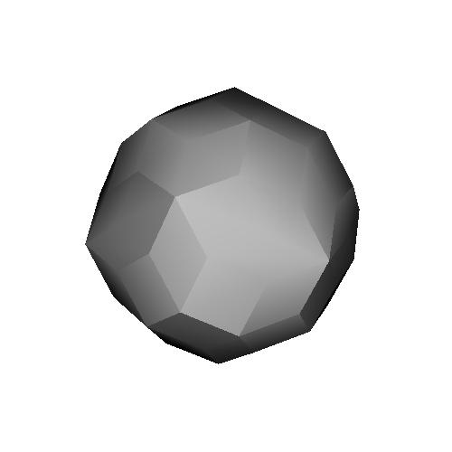 太った菱形72面体