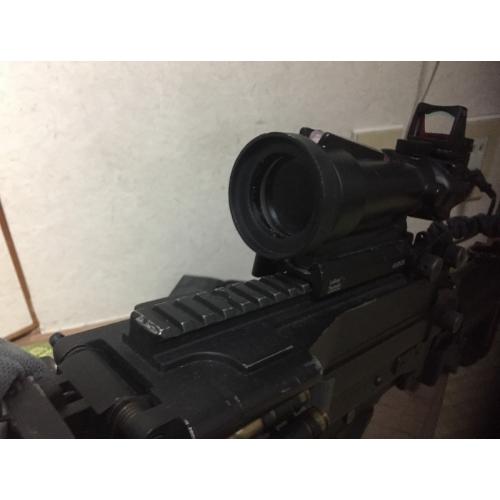 ACOG TA11 SDO風 スコープフード M249 ミニミ