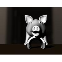 DL free ミニ豚 a goo 3D mini Pig