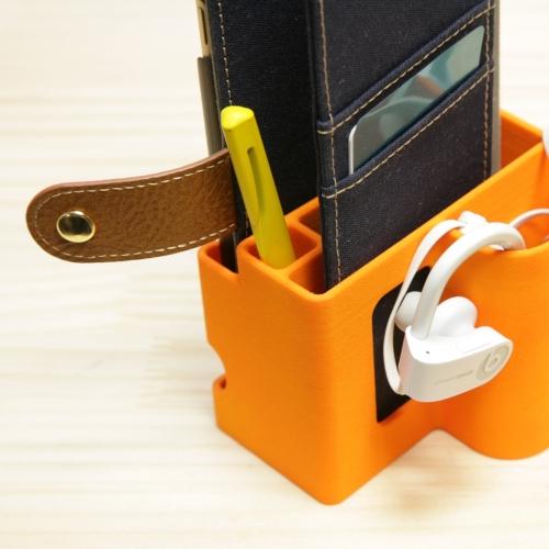 すまほおにぎり2  iPhon6/7plus(厚手素材ok)手帳型ケース用スタンド