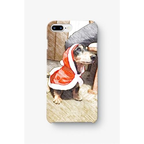 サンタわんたん-スケッチ調 iphone7 Plus