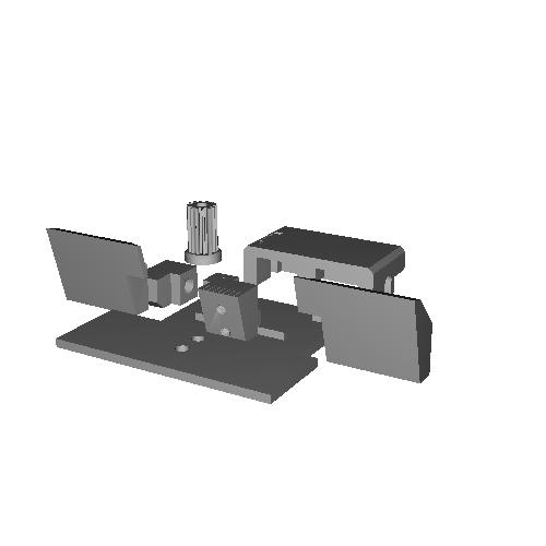 APS-3 用 バリアブルリアサイトV2(Wing 15mm)