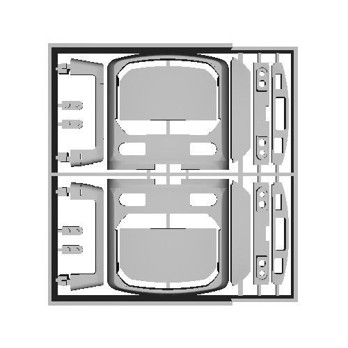 70-000LED車タイプ 前面パーツ (改良)