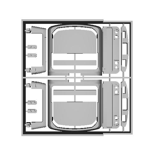 209-3100タイプ 前面パーツ (改良)
