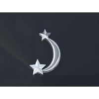 星と月ペンダント