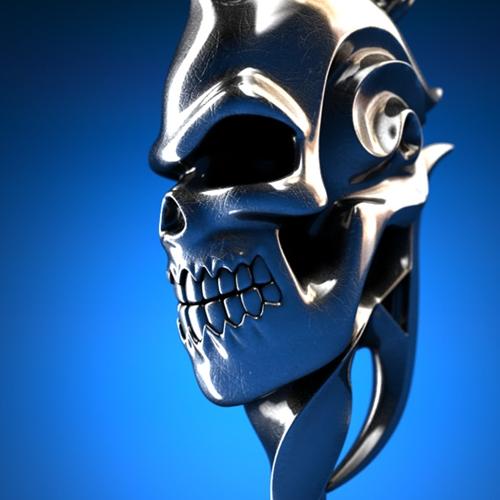 Swirl Skull