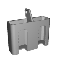 SONY Eマウントバッテリー用2連ケース(NP-FW50用)