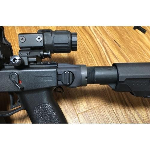 A&K電動ガン V-style(Kriss Vector)M4パイプアダプター(折畳有)