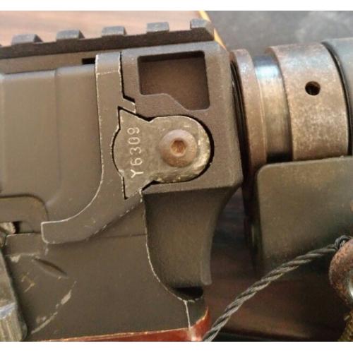 東京マルイコンパクト電動ガンVz61用 M4ストックアダプター
