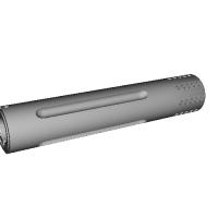 マルシン 固定ガス式 スタームルガー mk1用のガスポート&フルートバレル