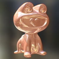 HappyFrog 【color】Pink (真鍮>ピンクゴールドメッキ)