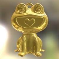 HappyFrog 【color】Gold (真鍮>24Kメッキ)