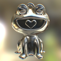 HappyFrog 【color】 Elegant Silver (シルバー>いぶし仕上げ)