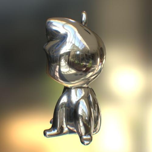 HappyFrog 【color】Dark Silver (真鍮>ガンメタロジウムメッキ)