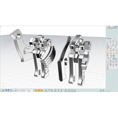 【ロボット隊員 ゴリライノとガンマンダブ】二体セット