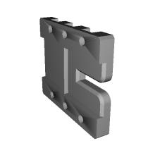 zev type mount base for マルイG17、G18、G34