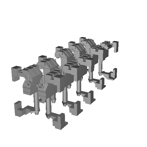 Nゲージ 新型E電トイレタンク(5個セット)