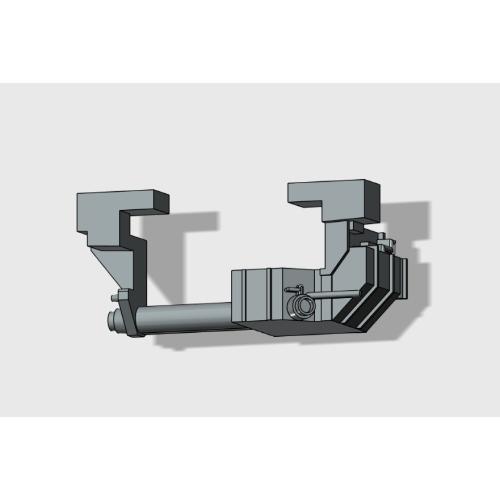 Nゲージ 新型E電トイレタンク(10個セット)