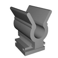 S30型フェアレディZ インスペクションリッド用クリップ改良型