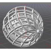 リサジュー曲線で作った球(3層)