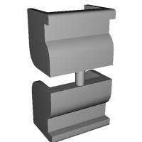 AKマガジンリップ補修用二個セット(次世代AK非対応)