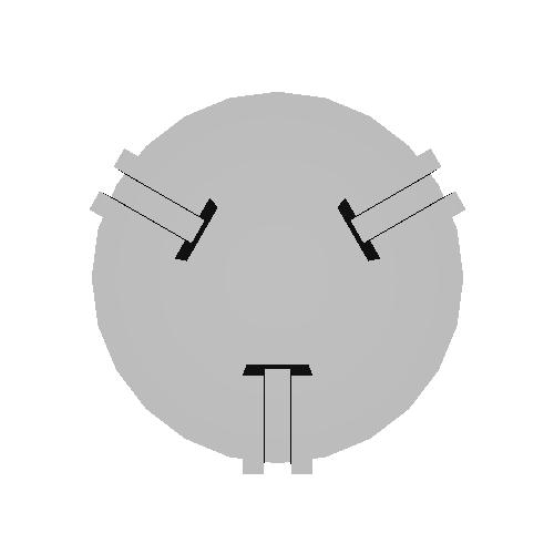 Micro Model Rocket B