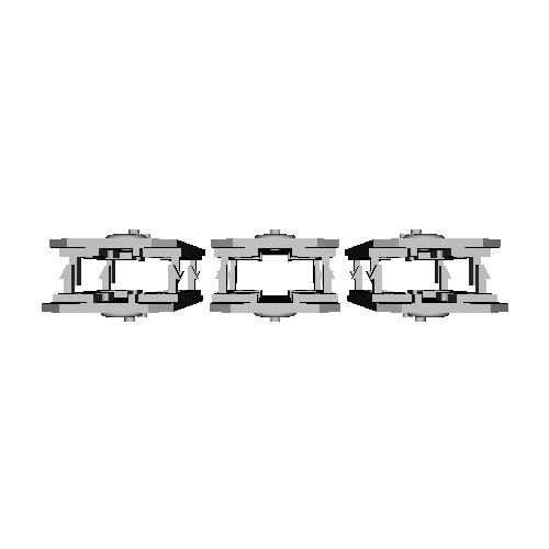 Bトレイン Nゲージビス止台車対応床板(6両分)