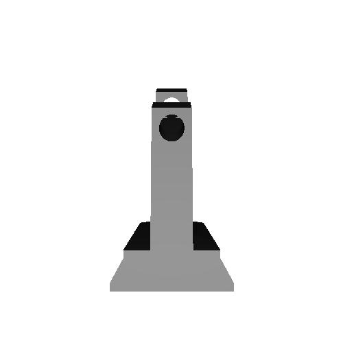 APS-3用フロントサイト12mm高 v2