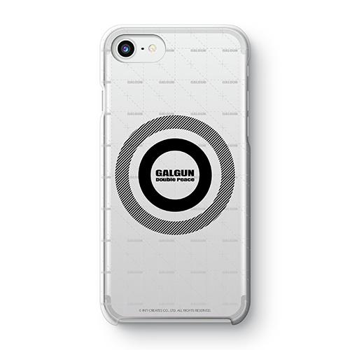 【ぎゃる☆がん だぶるぴーす ばいりんぎゃる】 ぎゃる☆がんロゴ iPhoneケース