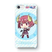 【ぎゃる☆がん だぶるぴーす ばいりんぎゃる】 くろな SDバージョン iPhoneケース