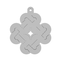 Mabinogi Celtic Emblem Key Chain A