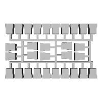 【PRH3D-0003】485系3000番台 ヘッドマークシール貼付用プリズム(TOMIX用