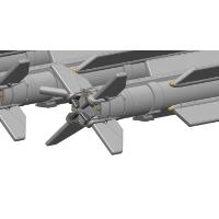 1/32 04式空対空誘導弾 (AAM-5) 4本セット