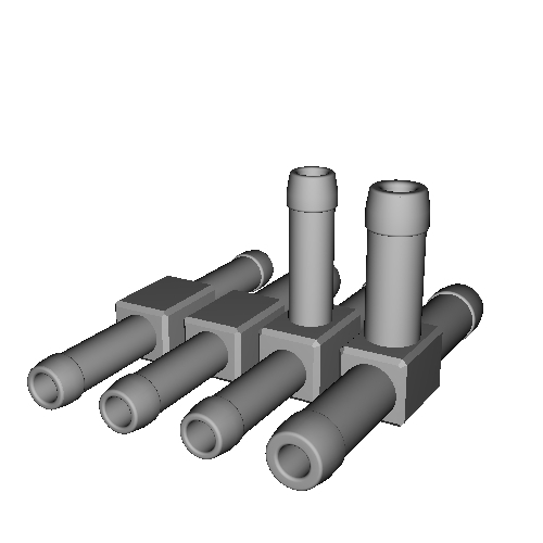 T字6-6-6mm,5-5-5mm,異径5-6mm,同径オリフィス内蔵5-5mm ジョイント