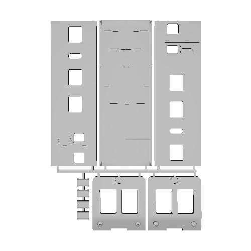 【PRH3D-0005】国鉄苗穂工場試作 ライトレールカーパンダ号タイプ車両キット