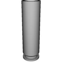 MARUSHIN MAUSER M712 金属モデルガン 発火カートリッジ (ストレートタイプ)