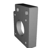 Atom-RC 用 NEMA17 規格ステッピングモーター対応Yモーター部パーツ