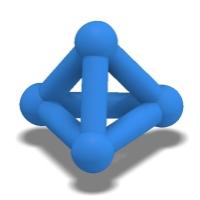 三角すいのオブジェ(mono)