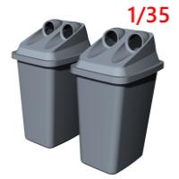 1/35容器回収容器:空き缶回収ボックス