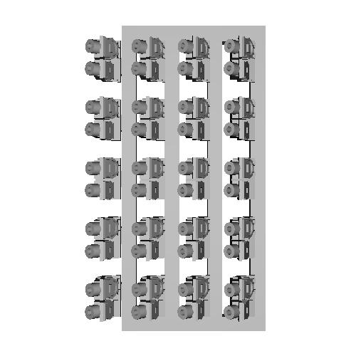 Nゲージ EF64-1000番代用ジャンパ栓パーツ