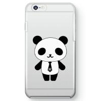パンダ部長iPhone6ケース クリア